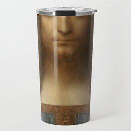 Price Slashed on 450M Leonardo da Vinci Salvator Mundi Travel Mug
