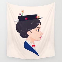 A Spoonful of Sugar Wall Tapestry