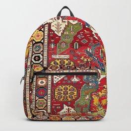 Dragon Sumakh Kuba East Caucasus Rug Print Backpack