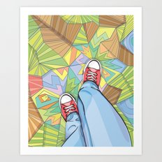 Converse Dream Art Print