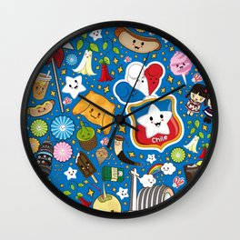 Dulce Patria Kawaii Wall Clock