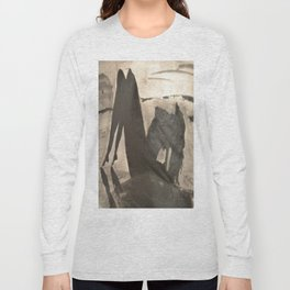 Blue Ocean (Square Size) Long Sleeve T-shirt