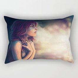 Asleep or Dead Rectangular Pillow