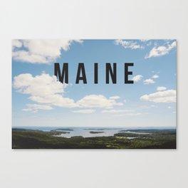 Maine. Canvas Print