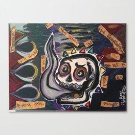 itfellapartintosmoke Canvas Print