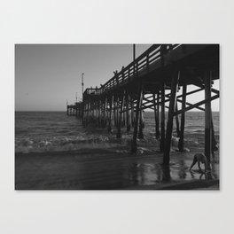 Balboa Pier Canvas Print