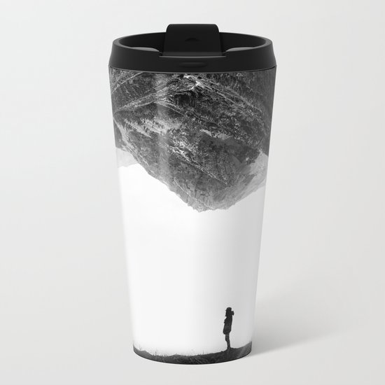 Lost in isolation Metal Travel Mug