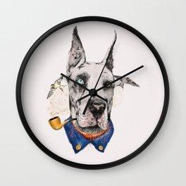 Mr. Great Dane Wall Clock