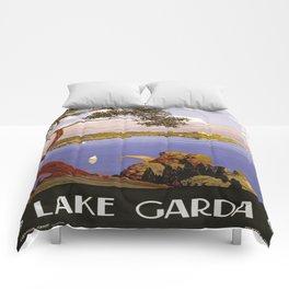Vintage poster - Lake Garda Comforters