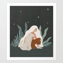 a companion Art Print