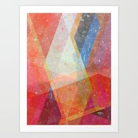 prism Art Prints featuring Prism by Zeke Tucker