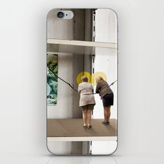 Face the Future iPhone & iPod Skin