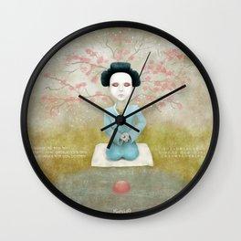 A Daughter of the Samurai  Wall Clock
