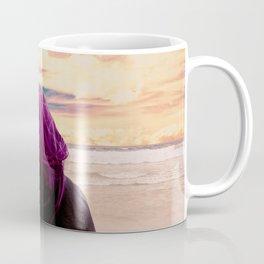 Watching the Waves Coffee Mug