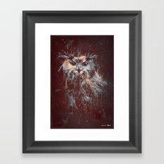 DARK OWL Framed Art Print