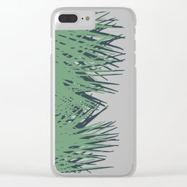 Cuban Palm Clear iPhone Case