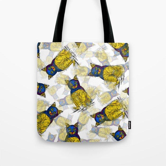 BAT CAT Pattern 1 Tote Bag