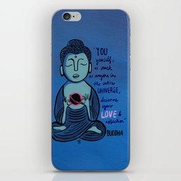 Buddha Quote1 iPhone Skin