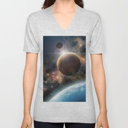 Welcome to the Space Unisex V-Neck