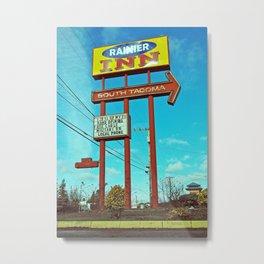 South Tacoma motel Metal Print