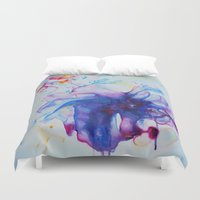 fairy tale Duvet Covers featuring Fairy Tale by Maria Lozano - Art