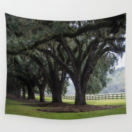 Tree Arch Drive Wall Tapestry