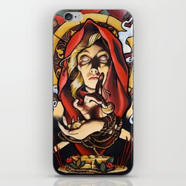 Lady Devout iPhone Skin