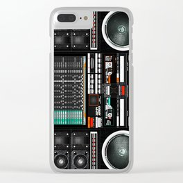 Boombox Ghetto J1 Clear iPhone Case