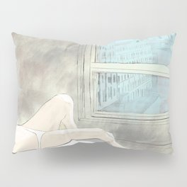 Woman at a New York Evening Siesta Pillow Sham
