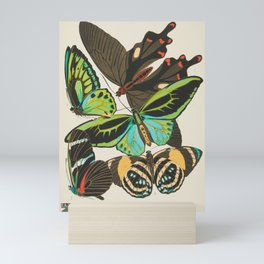 Butterfly and Moth Print by E.A. Seguy, 1920s #19 Mini Art Print