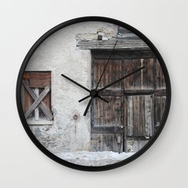 Disused Home Wall Clock