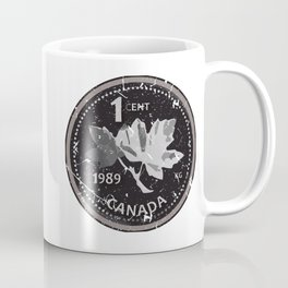 Leave your 2 cents, Oh Canada! Coffee Mug