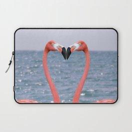 Flamingo Love Laptop Sleeve