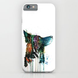 Husky - Anticipation iPhone Case