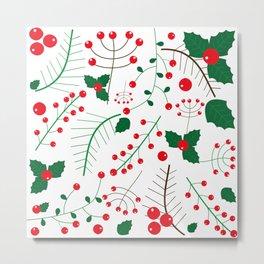 mistletoe Metal Print