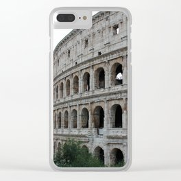 Colosseo Clear iPhone Case