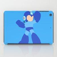 mega man iPad Cases featuring Mega Man(Smash)Black by ejgomez