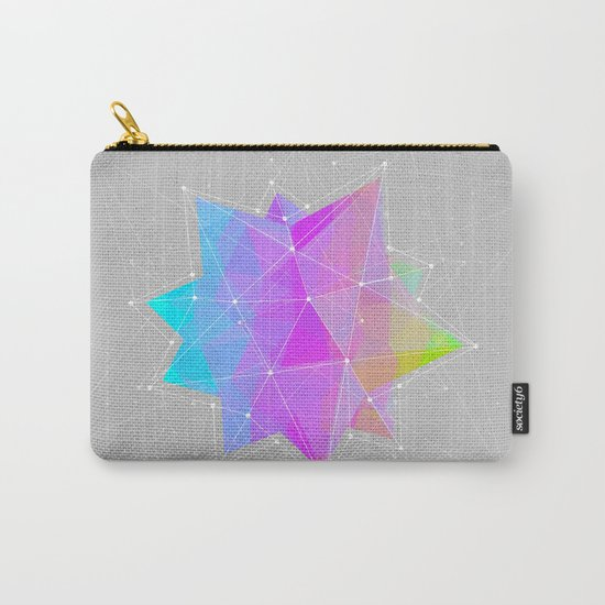 The Dots Will Somehow Connect (Geometric Star) Carry-All Pouch