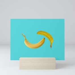 two big Banana Fruits Mini Art Print