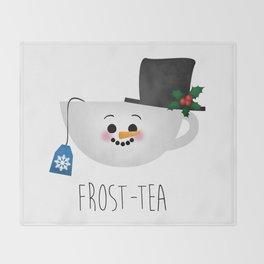 Frost-tea Throw Blanket