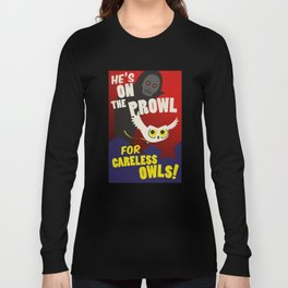 Careless Owls Long Sleeve T-shirt