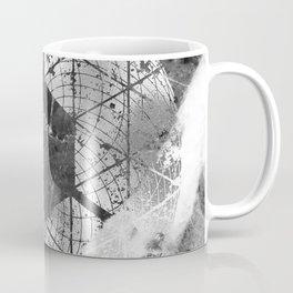 Elegant Marble Silver Circle Coffee Mug