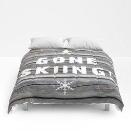 Gone Skiing! Comforters