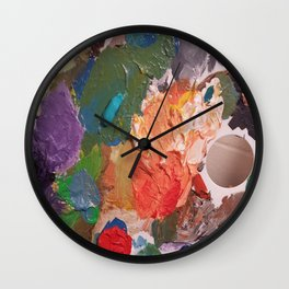 Pallete Wall Clock