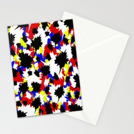 COMIC BOOK PATTERN Stationery Cards