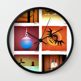 6 Mamaws Wall Clock