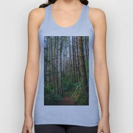 Trees: IV // Oregeon Unisex Tank Top