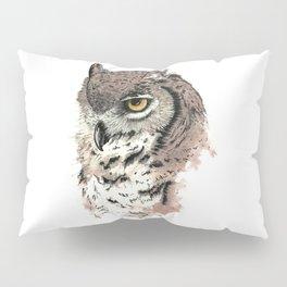 Great Horned Owl Pillow Sham