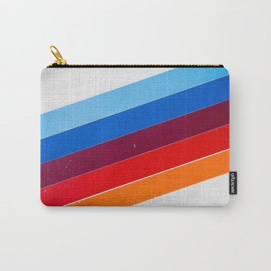 lines on lines Carry-All Pouch