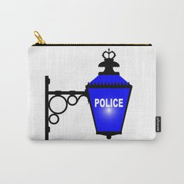 Police Station Blue Light Carry-All Pouch